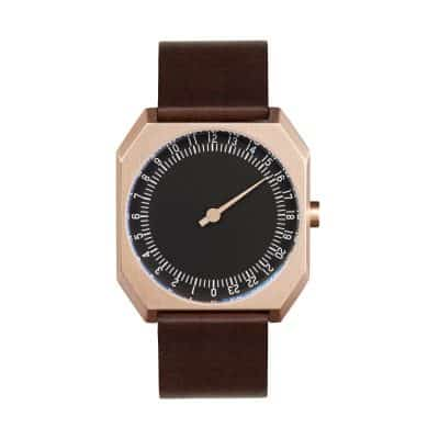slow Jo 32 - Single Hand wrist watch - Rose Gold, Black-1